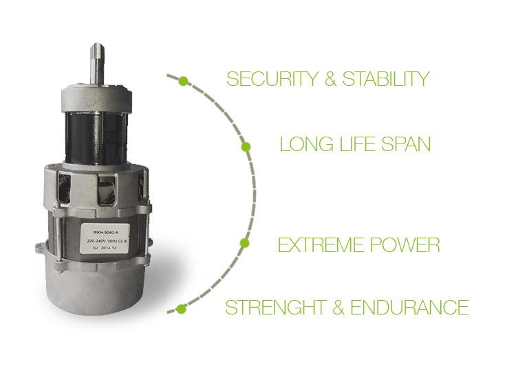 SLIMMY jedinstveni indukcijski ac motor