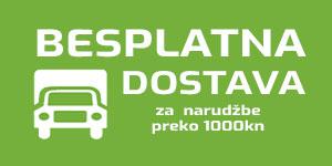 besplatna dostava za naruždbe ukupnog iznosa većeg od 1000 kn