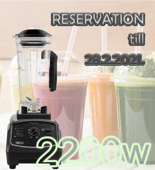Rezervacija novog LOHAS primjerka sa 2200W